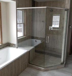 new bathroom build by coughlin