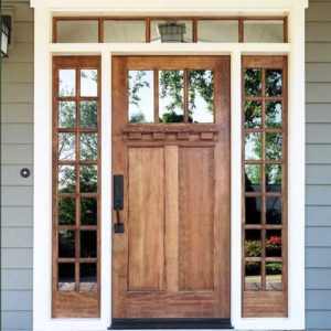 Coughlin Home Improvement Front Door with windows